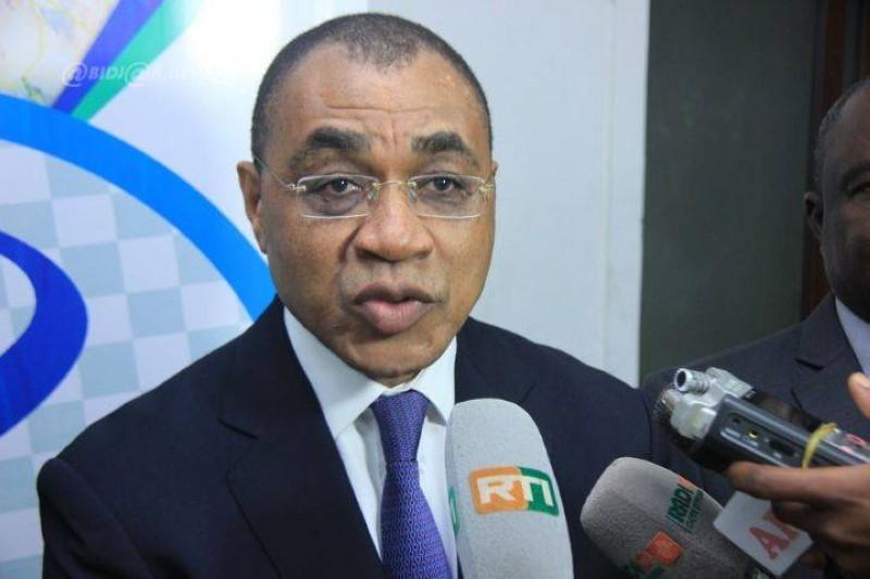 Adama Coulibaly, ministre de l'Economie et des Finances. (DR)