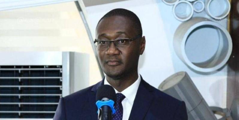 Moussa Sanogo, ministre auprès du Premier ministre en charge du Budget et du Portefeuille de l'Etat. (DR)