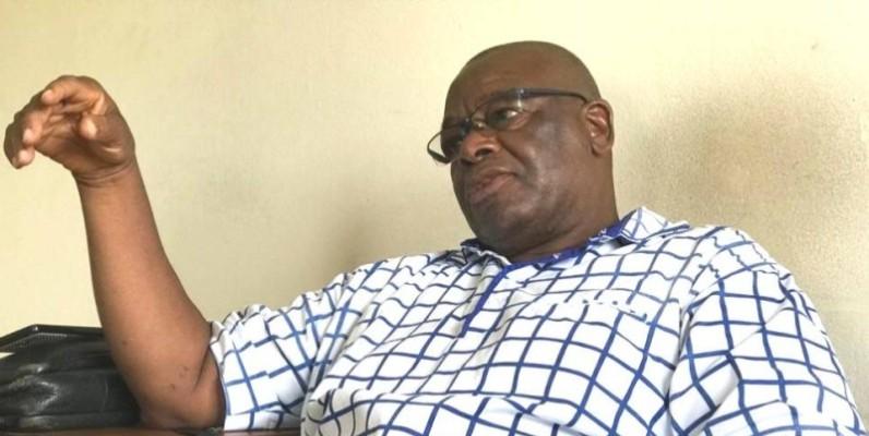N'datin Koné, fondateur école à Dabou. (Ph: Groupe 1)