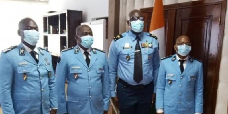 Il s'agit de deux commissaires et un officier de police qui sont concernés par le départ en RDC. (Dr)