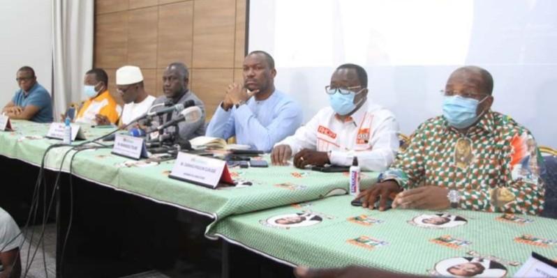 Les personnalités du Rhdp ont mis en exergue les valeurs intrinsèques qui caractérisaient feu Amadou Gon Coulibaly.  (Dr)