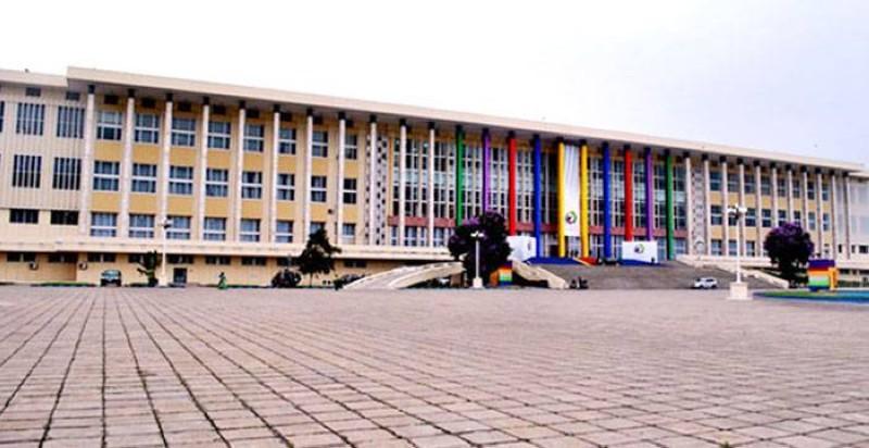 Une vue du Palais du peuple (RDC). (DR)