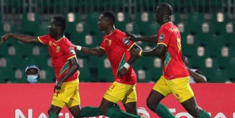 Les Guinéens savourent leur victoire. (Photo: DR)