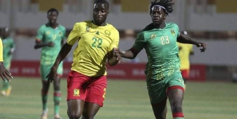 Le duel entre Camerounais et Mauritaniens a tenu toutes ses promesses. (DR)