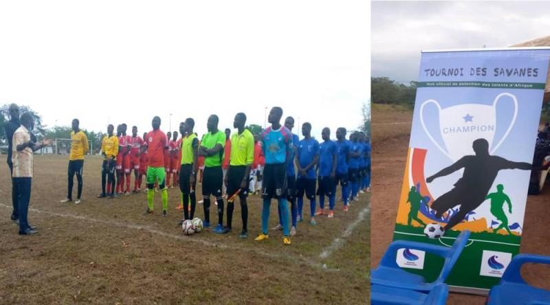 La première édition du tournoi des Savanes, à Bouaké, dans la capitale de la région de Gbèkè.
