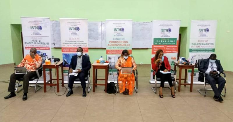 Les directeurs des 5 écoles de l'Institut ont animé un panel. (DR)