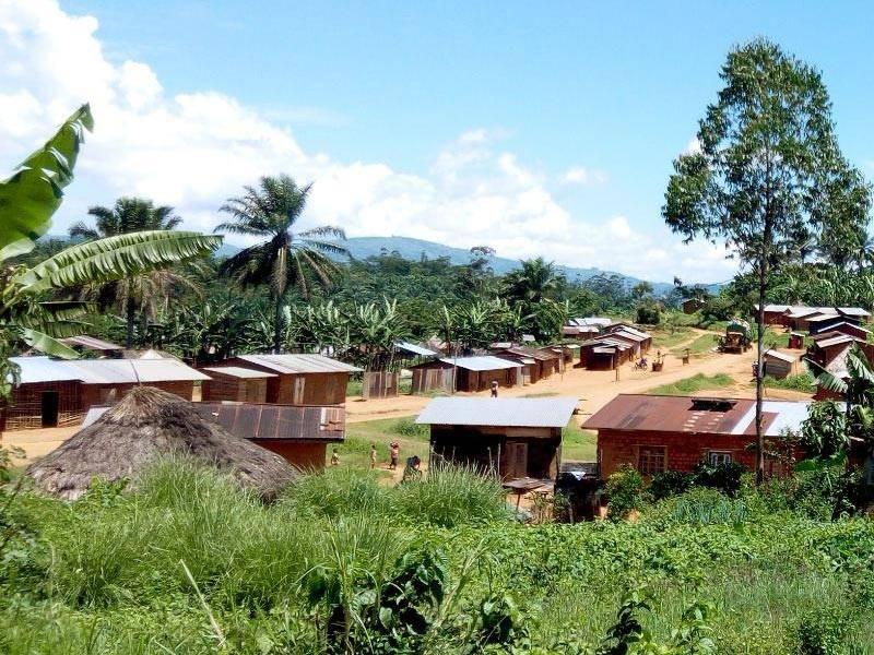 Une vue d'un village du Nord-Kivu. (Dr)