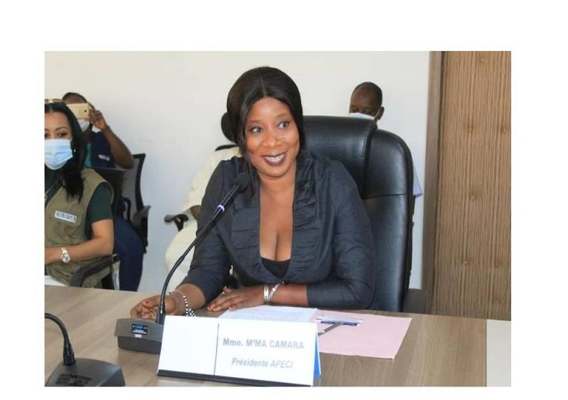 M'ma Camara réélue pour un nouveau mandat de 5 ans à la tête de l'Apeci