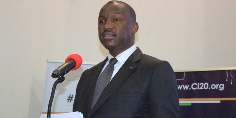 Mamadou Touré, ministre de la Promotion de la jeunesse et de l'Emploi des jeunes. (DR)