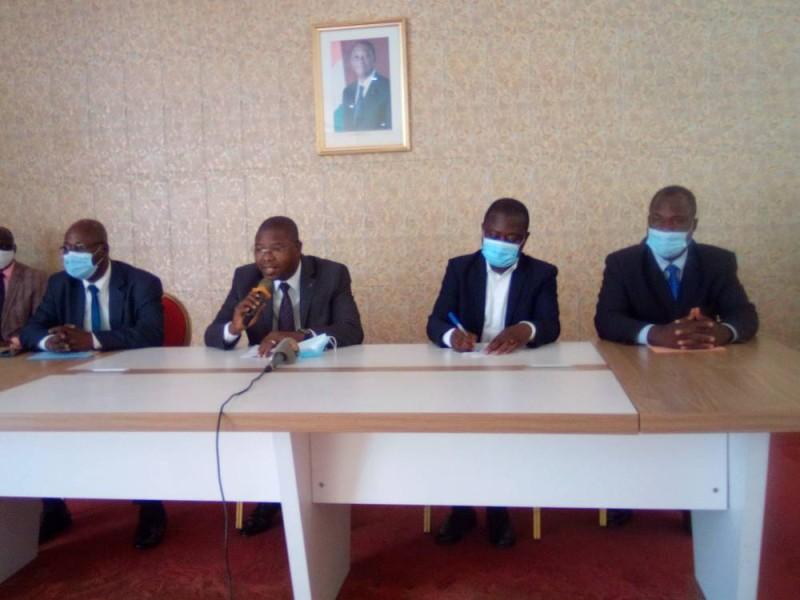 La Concertation interpartis pour des élections démocratiques sensibilise à des élections apaisées à Koumassi. (DR)