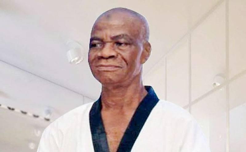 Me Diomandé dit Wallace, un des précurseurs du taekwondo dans le pays. (DR)
