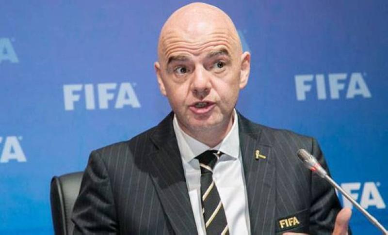 Gianni Infantino, président de la FIFA. (DR)