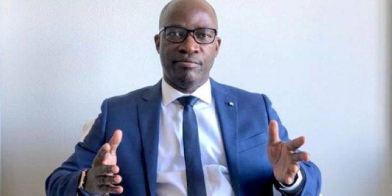 Charles Blé Goudé traduit sa gratitude au Président de la République, Alassane Ouattara. (Dr)