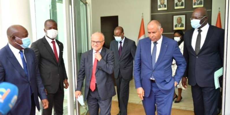 L'ambassadeur Jean-Christophe Belliard assure la Côte d'Ivoire de l'accompagnement de la France. (DR)
