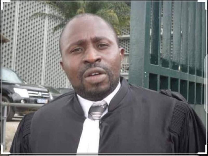 Me Ben Meité, avocat de l'État de Côte d'Ivoire.
